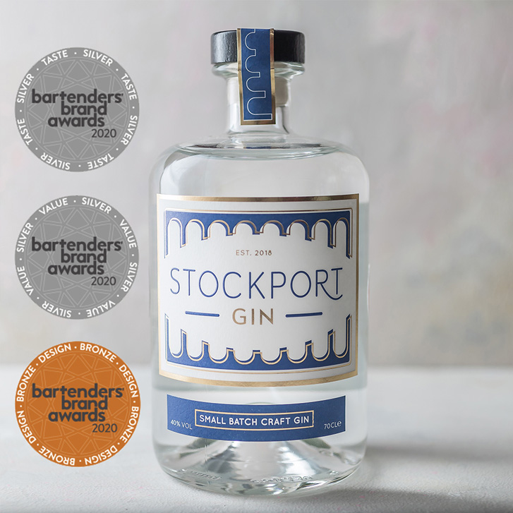 STOCKPORT GIN COLLECT MORE AWARDS